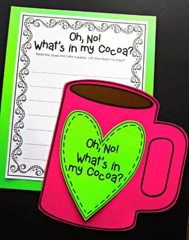 Uh, Oh! What's in my Cocoa? {A winter craftivity and writing project}