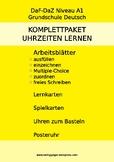 Uhrzeiten lernen - Deutsch - A1