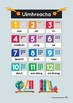 Uimhreacha! 123 IN IRISH/GAEILGE! Clean & positive classroom visuals