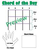 Ukelele Chord Interactive Poster