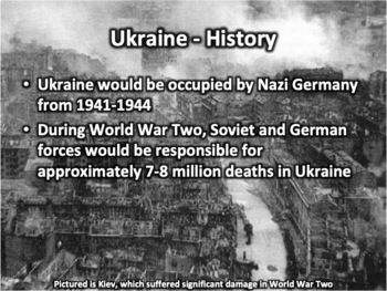 Ukraine PowerPoint - Geography, History, Government, Culture and more
