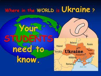 Ukraine Map Product