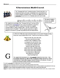 Ukrainian Bell Carol/Carol of the Bells Worksheet
