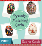 Ukrainian Pysanka Matching Cards