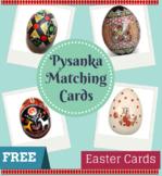 Montessori Ukrainian Pysanka Matching Cards