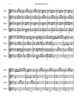Ukranian Bell Carol - Glockenspiel