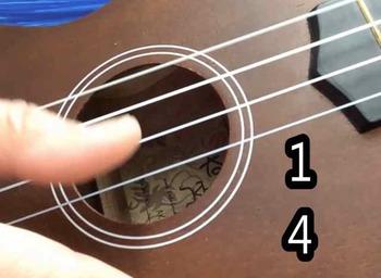Ukulele: A Folk Tune Duet on Open Strings play along song