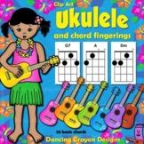 Ukulele Chord Chart Clipart and Ukulele Clip Art
