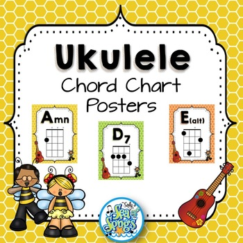 Ukulele Chord Chart Teaching Resources Teachers Pay Teachers