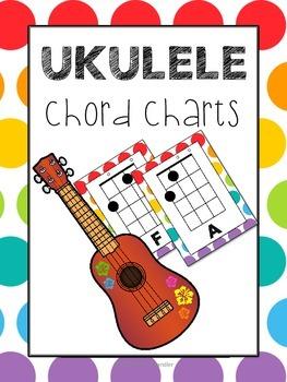 Ukulele Chord Charts #musiccrewukulele