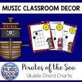 Ukulele Chord Charts Pirate Theme