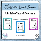 Ukulele Chord Posters for the Elementary Music Classroom