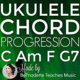 Ukulele Chord Progressions Unit 1: C Am F and G7
