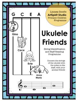 Ukulele Friends String Identification and Staff Reading Programme
