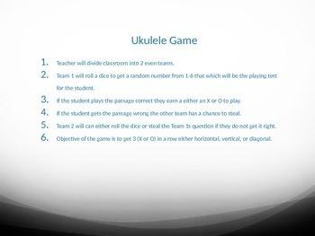 Ukulele Game - Tic Tac Toe