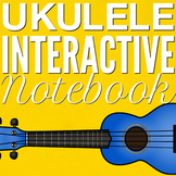 Ukulele Interactive Notebook - Growing Resource - Unit 1