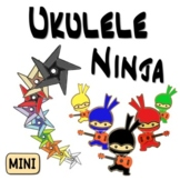 Ukulele Karate ~BUNDLE~ Ukulele Lessons, Strumming, Worksheets & Chord Charts !