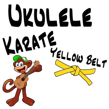 Ukulele Karate - Beginner Ukulele Lesson 2, Yellow Belt