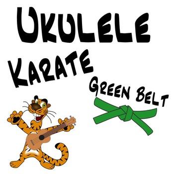 Ukulele Karate - Beginner Ukulele Lesson 4, Green Belt