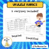Ukulele Performance Rubrics For Grading