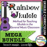 Ukulele Program - Rainbow Ukulele {BUNDLE} - Lessons, Presentation, Student Book