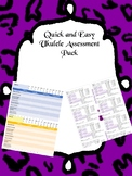 Ukulele Quick and Easy Playing Assessment
