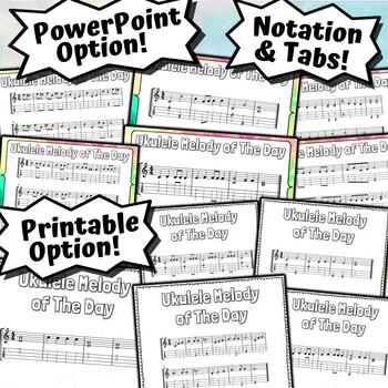 Ukulele Melody of The Day - 27 Melodies For Beginner Ukulele Players!