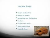 Ukulele Songs for Beginners