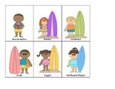 Ukulele Surfing Cards