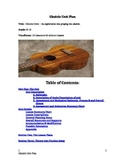Ukulele Unit -  Complete Lesson Plan and Song Package