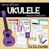 Ukulele Unit for the Music Classroom- Three