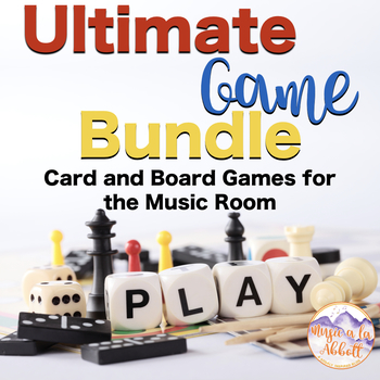 Ultimate Game Bundle: Card and Board Games for the Music Room