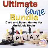 Music Game Bundle: Ultimate Set of Card and Board games