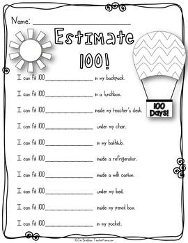Ultimate 100th Day of School Kit ~ BIG Bundle ~ Literacy & Math FUN!