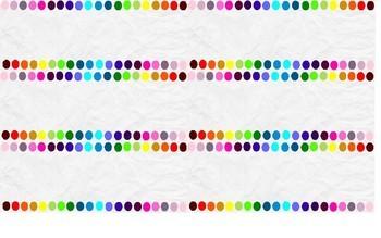 Ultimate 20 Colour/Colour Rainbow White Paper Theme Labels {Editable}