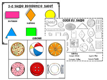 Ultimate 2d and 3d Shape Activities and Centers Bundle