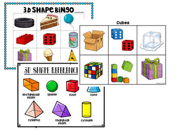 2d and 3d Shape Activities and Centers ULTIMATE BUNDLE