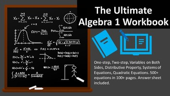 Ultimate Algebra 1 Workbook