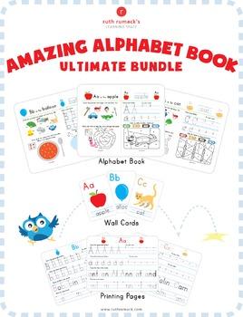 Amazing Alphabet Book Ultimate Bundle