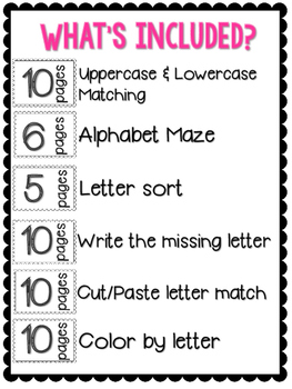Ultimate Alphabet Pack FREEBIE!