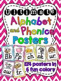 Chevron Alphabet Posters (Alternate Primary Font)