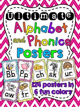 Alphabet Posters and Phonics Posters Huge Bundle