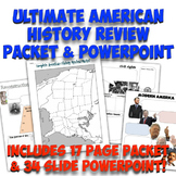 Ultimate American History Review Packet and Notes