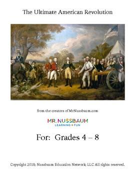 Ultimate American Revolution Unit for Grades 4-8