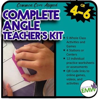 Ultimate Angle Kit - Activities, Games, Worksheets, and Assessments
