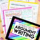 Argument Writing Unit (Grades 7-12)