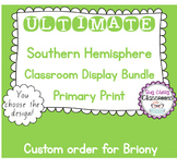 Ultimate Australian Classroom Display Bundle - Primary Print