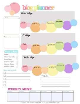 Ultimate BLOG Planner for Bloggers {Printable}