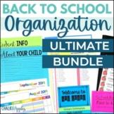 Back to School Organization - Ultimate Back to School Bundle