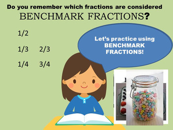 Ultimate Benchmark Fractions Bundle - Two PowerPoint lessons AND task Card set!